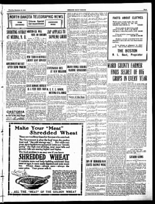 The Bismarck Tribune from Bismarck, North Dakota on September 15, 1910 · Page 3