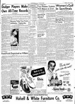 The Courier News from Blytheville, Arkansas on August 28, 1953 · Page 6