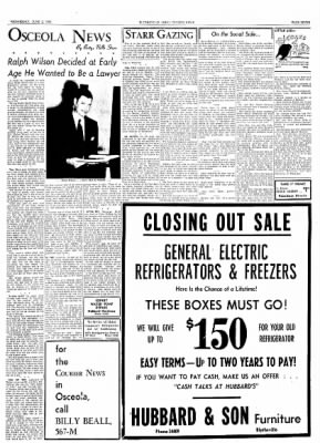 The Courier News from Blytheville, Arkansas on June 2, 1954 · Page 7
