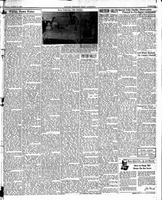 Ukiah Dispatch Democrat from Ukiah, California on March 19, 1948 · Page 5