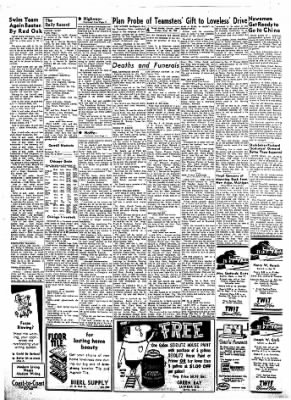 Carrol Daily Times Herald from Carroll, Iowa on August 23, 1957 · Page 4