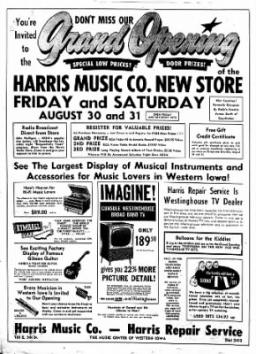 Carrol Daily Times Herald from Carroll, Iowa on August 28, 1957 · Page 8
