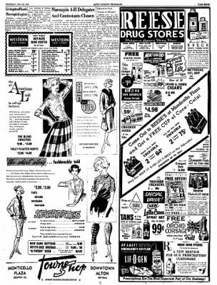 Alton Evening Telegraph from Alton, Illinois on July 28, 1960 · Page 7