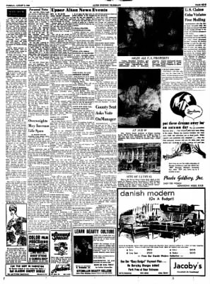 Alton Evening Telegraph from Alton, Illinois on August 9, 1960 · Page 9