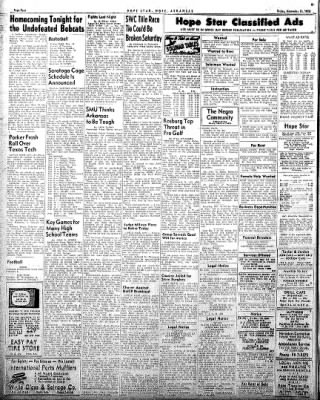 Hope Star from Hope, Arkansas on November 14, 1958 · Page 4