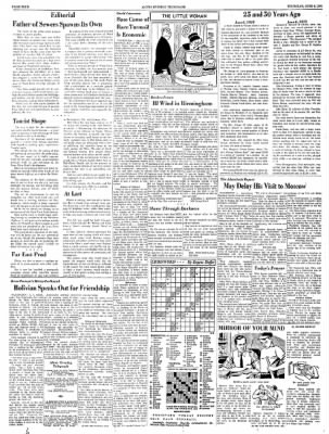Alton Evening Telegraph from Alton, Illinois on June 6, 1963 · Page 4