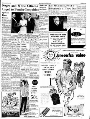Alton Evening Telegraph from Alton, Illinois on June 10, 1963 · Page 3