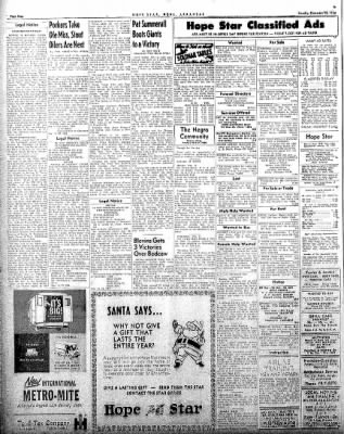 Hope Star from Hope, Arkansas on December 15, 1958 · Page 4
