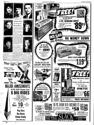 Alton Evening Telegraph from Alton, Illinois on June 13, 1963 · Page 40