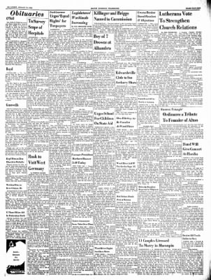 Alton Evening Telegraph from Alton, Illinois on August 10, 1963 · Page 13
