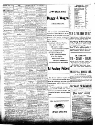 The Postville Review from Postville, Iowa on August 22, 1891 · Page 3