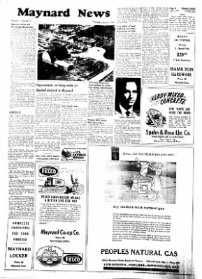 Fayette County Leader from Fayette, Iowa on July 6, 1961 · Page 4