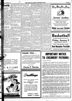Postville Herald from Postville, Iowa on December 31, 1947 · Page 5