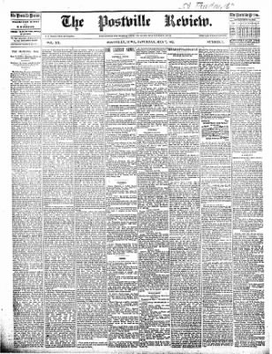 The Postville Review from Postville, Iowa on May 7, 1892 · Page 1
