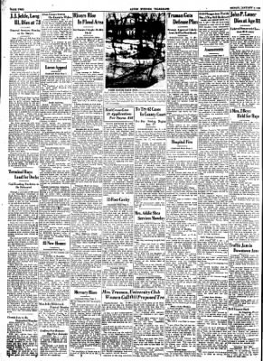 Alton Evening Telegraph from Alton, Illinois on January 7, 1950 · Page 2