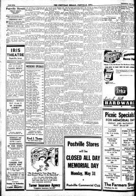 Postville Herald from Postville, Iowa on May 26, 1948 · Page 4
