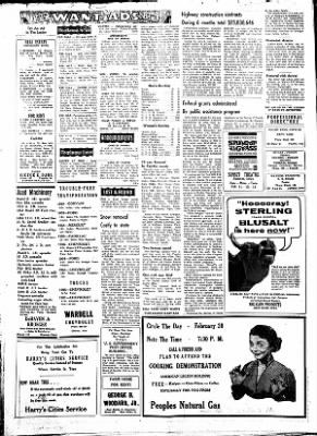 Fayette County Leader from Fayette, Iowa on February 8, 1962 · Page 6