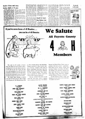 Fayette County Leader from Fayette, Iowa on March 8, 1962 · Page 7