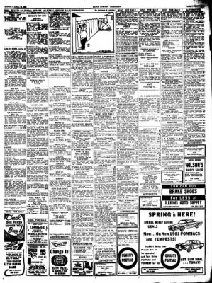 Alton Evening Telegraph from Alton, Illinois on April 10, 1961 · Page 21