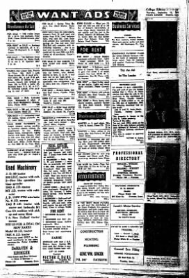 Fayette County Leader from Fayette, Iowa on September 13, 1962 · Page 5
