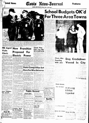 Clovis News-Journal from Clovis, New Mexico on May 7, 1965 · Page 6