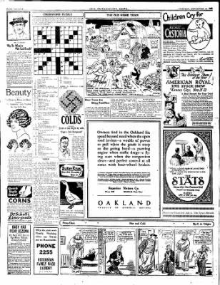 The Hutchinson News from Hutchinson, Kansas on November 18, 1924 · Page 12