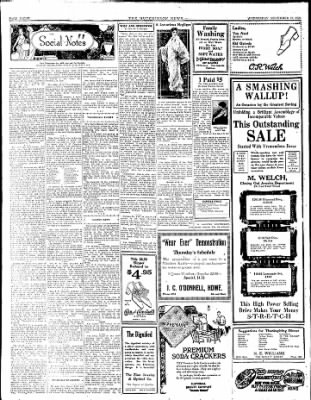 The Hutchinson News from Hutchinson, Kansas on November 19, 1924 · Page 8
