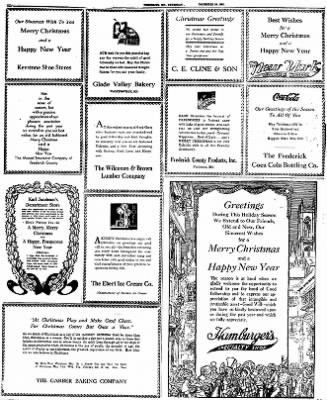 The News from Frederick, Maryland on December 24, 1931 · Page 9