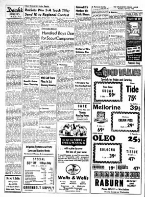 The Wellington Leader from Wellington, Texas on April 16, 1964 · Page 10