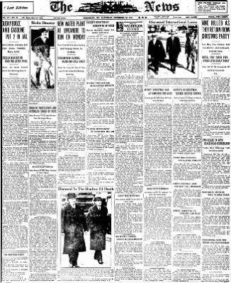 The News from Frederick, Maryland on December 26, 1931 · Page 1
