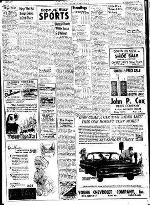 Hope Star from Hope, Arkansas on June 30, 1961 · Page 2