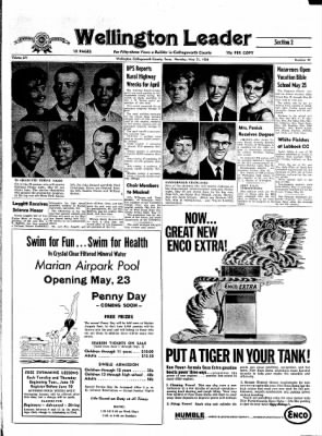 The Wellington Leader from Wellington, Texas on May 21, 1964 · Page 9