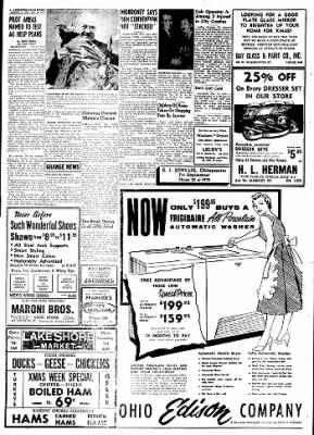 The Sandusky Register from Sandusky, Ohio on December 19, 1955 · Page 8