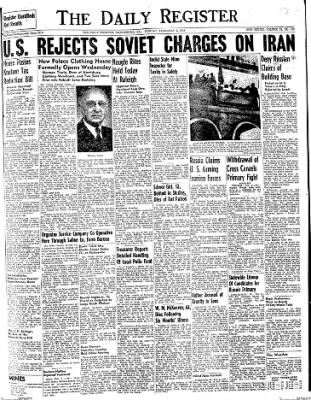 The Daily Register from Harrisburg, Illinois on February 2, 1948 · Page 1