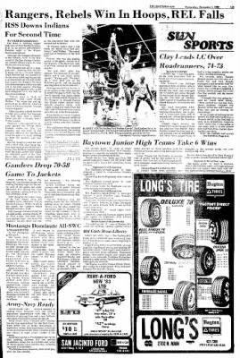 The Baytown Sun from Baytown, Texas on December 1, 1982 · Page 28
