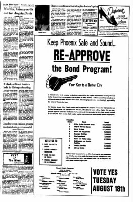 Arizona Republic from Phoenix, Arizona on August 16, 1970 · Page 22
