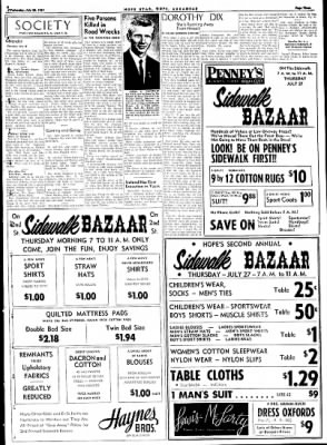 Hope Star from Hope, Arkansas on July 26, 1961 · Page 3
