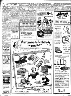 The News from Frederick, Maryland on December 7, 1951 · Page 9