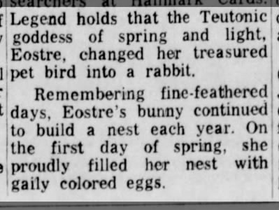 The egg-laying bunny