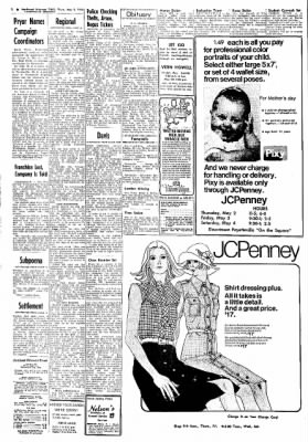 Northwest Arkansas Times from Fayetteville, Arkansas on May 2, 1974 · Page 2