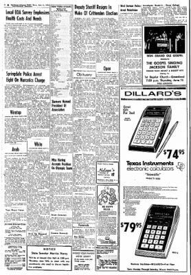 Northwest Arkansas Times from Fayetteville, Arkansas on June 13, 1974 · Page 2