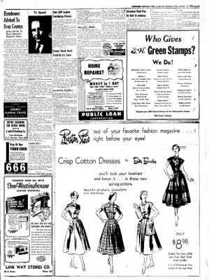Northwest Arkansas Times from Fayetteville, Arkansas on January 11, 1952 · Page 3