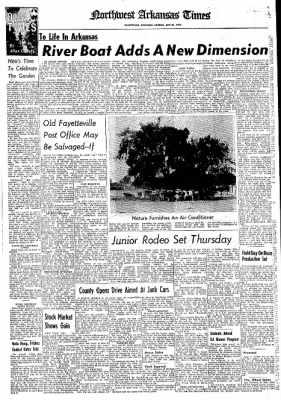 Northwest Arkansas Times from Fayetteville, Arkansas on July 21, 1974 · Page 19