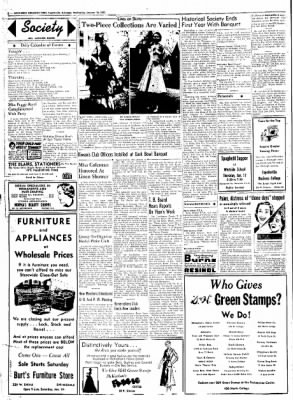Northwest Arkansas Times from Fayetteville, Arkansas on January 16, 1952 · Page 2