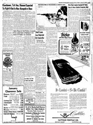 Northwest Arkansas Times from Fayetteville, Arkansas on January 29, 1952 · Page 5