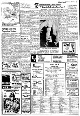 Northwest Arkansas Times from Fayetteville, Arkansas on August 7, 1974 · Page 21