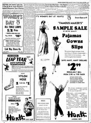 Northwest Arkansas Times from Fayetteville, Arkansas on February 28, 1952 · Page 7
