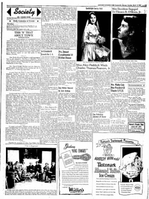 Northwest Arkansas Times from Fayetteville, Arkansas on March 8, 1952 · Page 3
