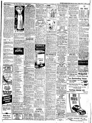 Northwest Arkansas Times from Fayetteville, Arkansas on March 11, 1952 · Page 11