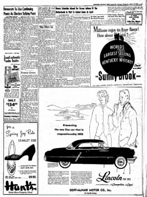 Northwest Arkansas Times from Fayetteville, Arkansas on March 19, 1952 · Page 5